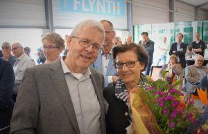 Afscheid Theo Visser op ondernemersontbijt Kom in de Kas